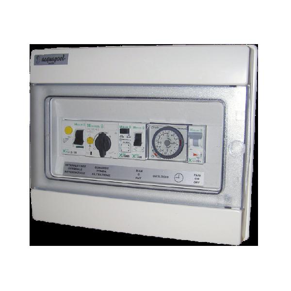 Schema Quadro Elettrico Per Pompa Sommersa : Quadro elettrico idro catalogo barchemicals piscine